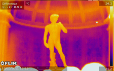 Infrared Monitoring in Art Museums