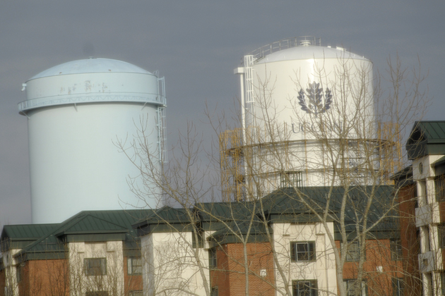 Water Towers.